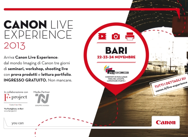 Canon Live Experience 2013